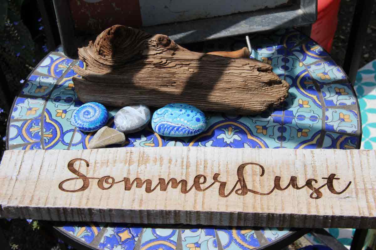 Holz-Gravur | Sommerlust-Deko