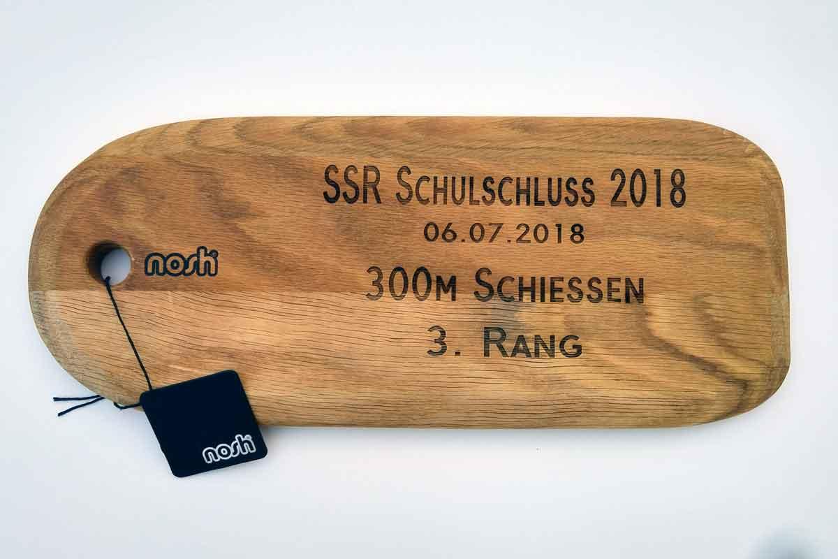 Lasergravur Holz | Anhänger